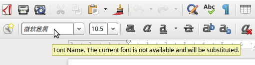 Dealing with Missing Fonts - LibreOffice Design Team