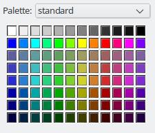 New standard palette.